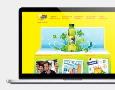 Lipton Ice Tea website