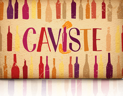 CAVISTE. Logo and identity elements for Online resource