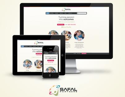 Safal Partners - Website Design
