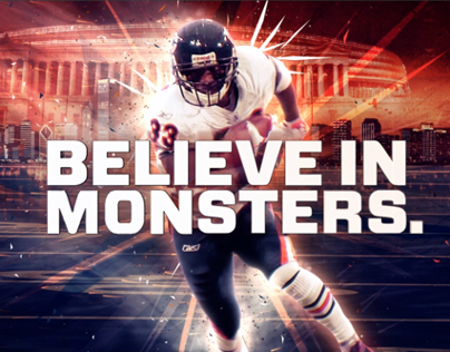 Chicago Bears - Believe in Monsters