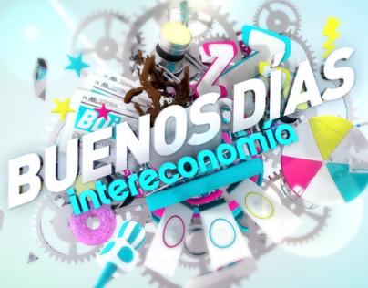 BUENOS DÍAS INTERECONOMÍA // OPENING TITLES TV SHOW