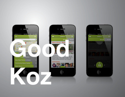 GoodKoz - Support your Cause, Earn Sweet Rewards