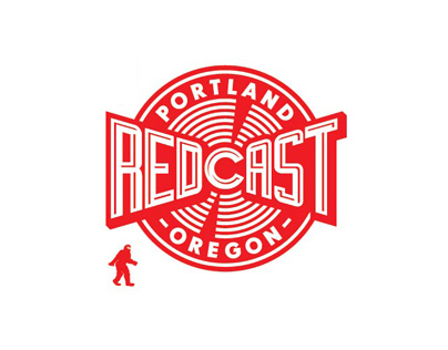 Redcast logo & graphics