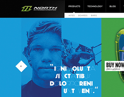 North Kiteboarding International Website Redesign