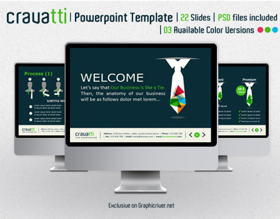 Cravatti Powerpoint Template
