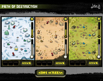 Paht of Destruction / Iphone Game