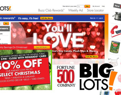 Advertising/Web for Big Lots
