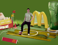 Villas Celebration (McDonalds Spain - World Cup 2010)