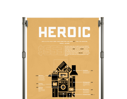 Heroic, Home energy infographic