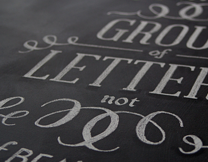 Chalk Typography