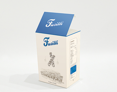 Italian pasta package design