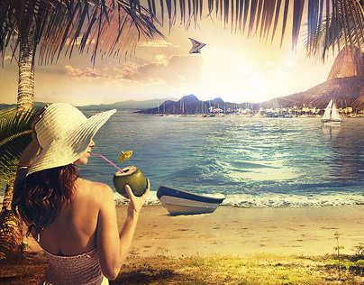 Beach - Photo manipulation