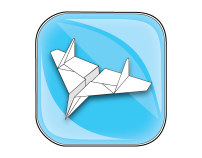 Paper Airplane iPhone App