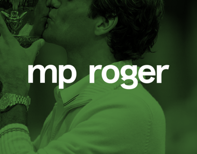 MP Roger Typeface