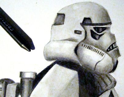 Sandtrooper Illustration