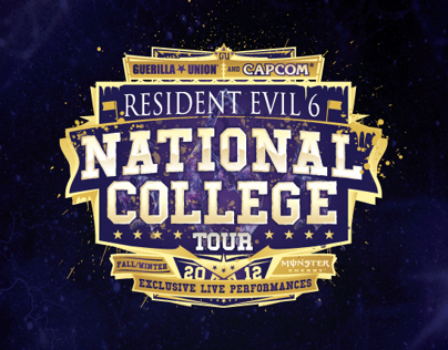 CAPCOMS RESIDENT EVIL 6 NATIONAL COLLEGE TOUR