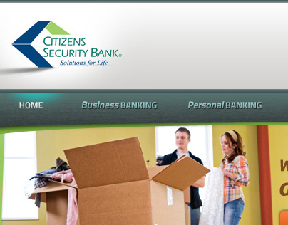 Citizens Security Bank website
