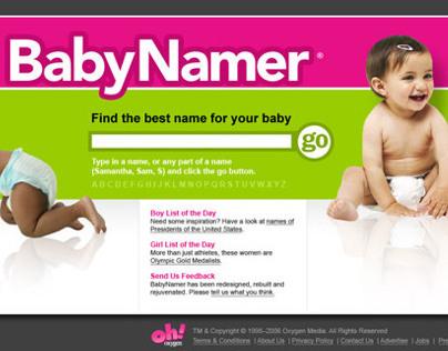 Baby Namer
