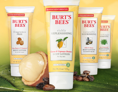 Burts Bees Body Lotion
