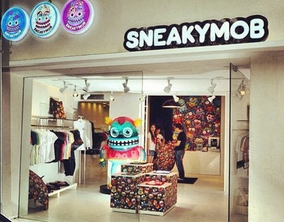 SNEAKYMOB in Shanghai, China