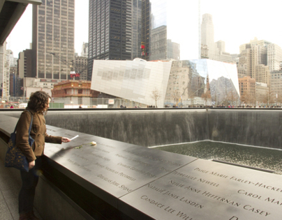 9/11 Memorial Names Arrangement & Memorial Guide