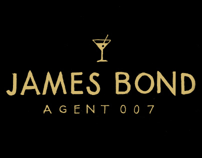 James Bond Doodle Series