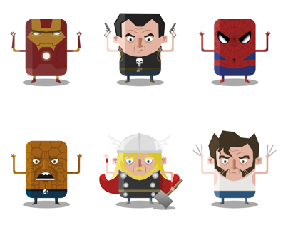 Mini Superheroes