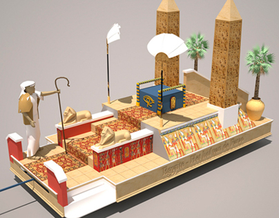 Float designs for the Hanswijk Procession