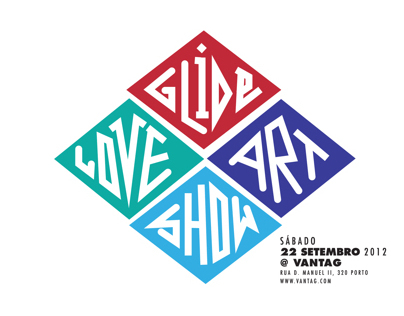 Glide Love Art Show | Vantag Gallery