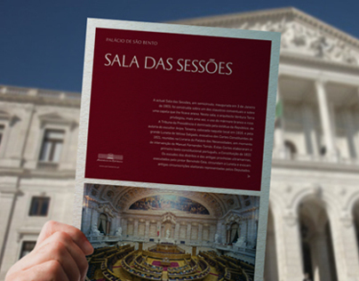 Flyer collection for the Portuguese Parliament
