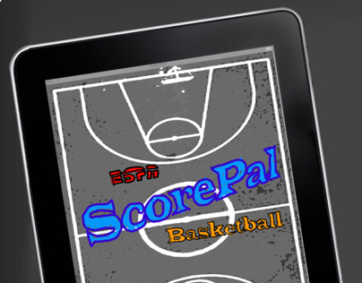 ESPN ScorePal : Basketball. Prototype iPad Application