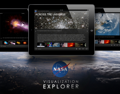 NASA Visualization Explorer iPad App