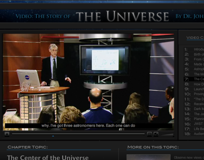 The Story of the Universe by Dr. John C. Mather