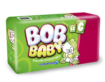 Bob Baby Deapers Packaging