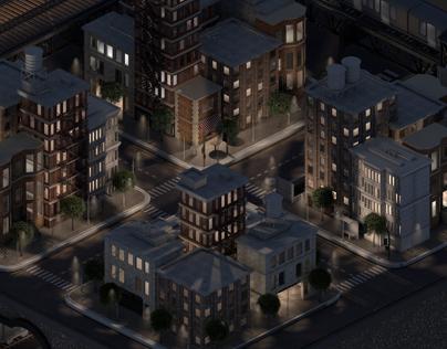City Block Series - Uptown Manhattan