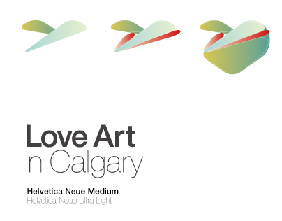 Branding Love Art in Calgary