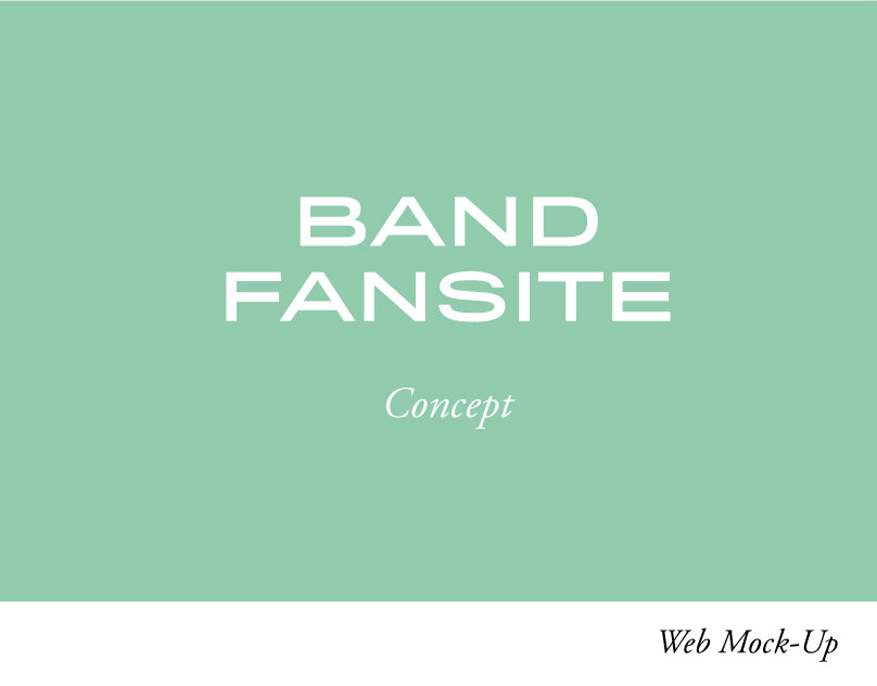 Band Fansite