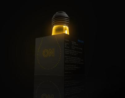Philips Light Bulb Packaging