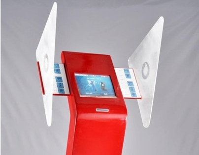 Mobile top-up machine