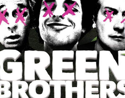 Green Brothers Party Poster