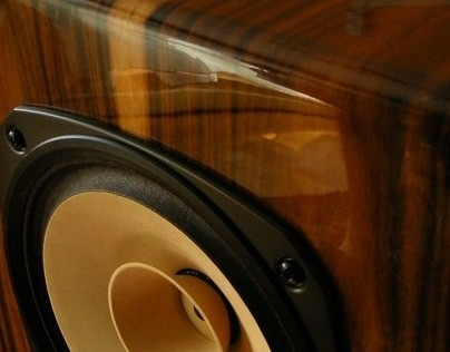 High gloss speaker boxes, handmade by Radu Man