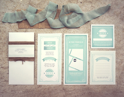 Wedding stationery (my wedding)