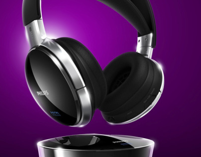 Virtual photography - Philips SHD8900 headphones