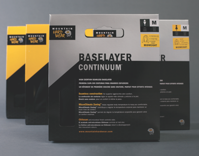 Mountain Hardwear Packaging (Baselayer lines)