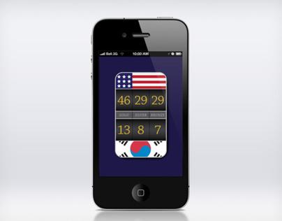 Externally Fed Olympic Medal Count Web App
