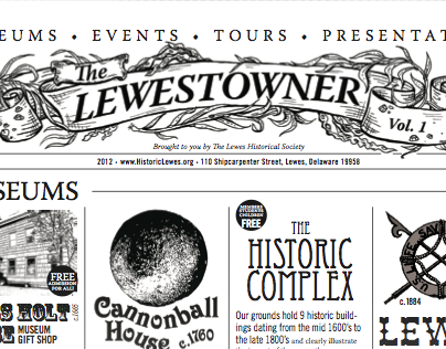 Illustrated Header: for The Lewestowner