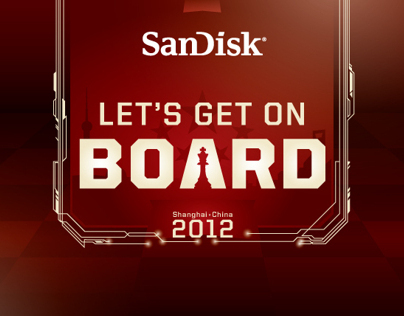 SANDISK LETS GET ON BOARD CAMPAIGN CHINA