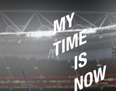 """My Time Is Now"" for NIKE©"