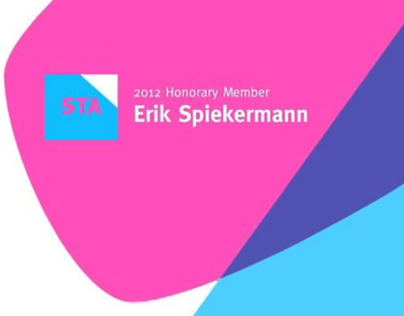 Typomania: The Case of Erik Spiekermann