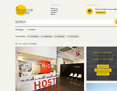 ProductionLocations.com - Responsive WordPress Theme